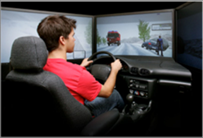 rehab simulator driving education
